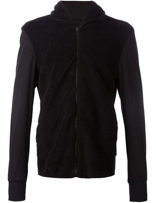 Christopher Raeburn | Мужская Чёрная Спортивная Куртка На Молнии С Капюшоном