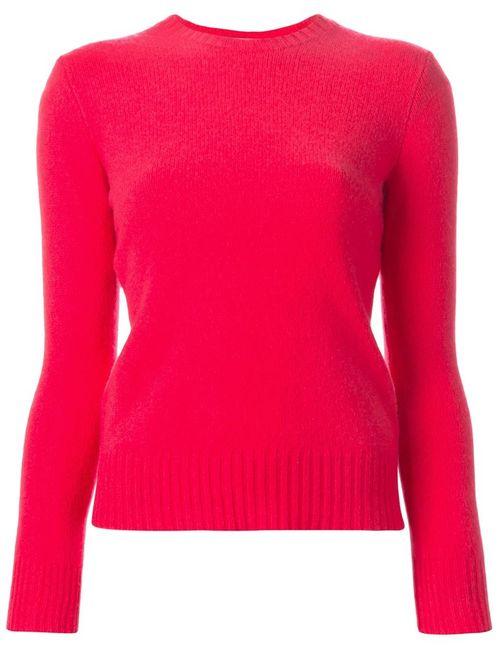 Polo Ralph Lauren | Женский Розовый Свитер С Круглым Вырезом