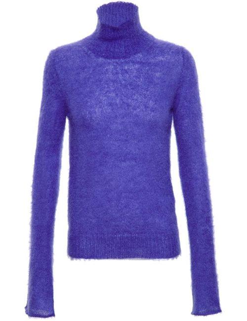 MSGM | Женское Синий Turtle Neck Sweater