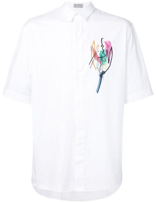 Dior Homme | Мужское Белый Printed Shirt