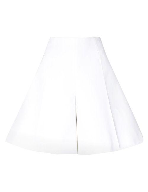 Delpozo | Белый Wide Leg Shorts