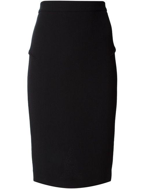 Roland Mouret   Женское Чёрный Pencil Skirt