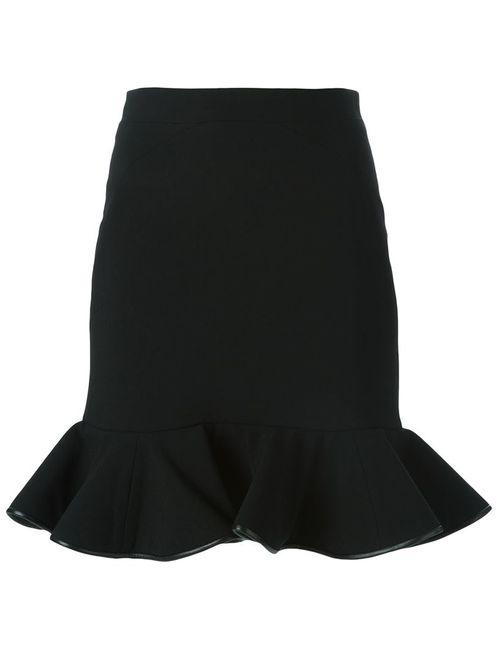David Koma | Женское Чёрный Trim Peplum Skirt