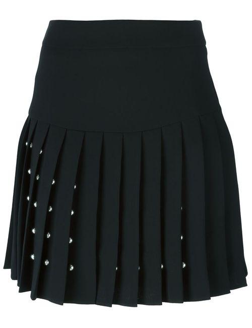 Mcq Alexander Mcqueen | Женское Чёрный Studded Pleat Skirt