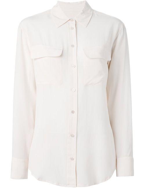 Equipment | Женское Розовый Chest Pocket Shirt