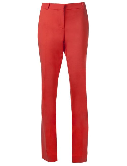Cedric Charlier | Желтый Banded Waist Trousers