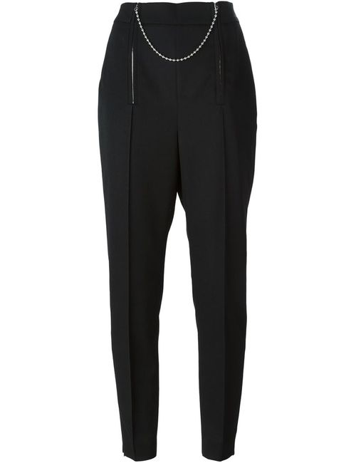 Alexander Wang | Черный Chain Detailed Cropped Trousers