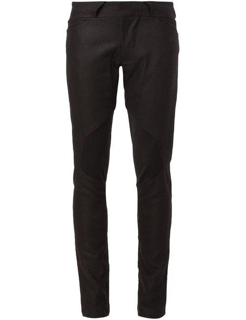 JULIUS   Чёрный Slim Fit Trousers