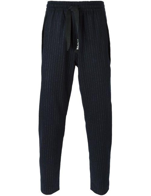 CMMN SWDN | Синий Pinstriped Drawstring Fastening Trousers