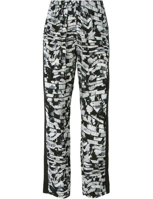 Kenzo   Чёрный Spray Stripes Trousers