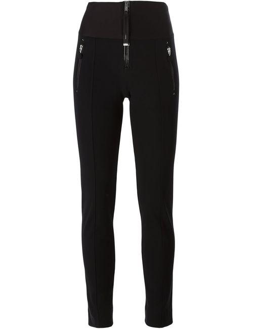 High | Чёрный Zip Detail Skinny Trousers