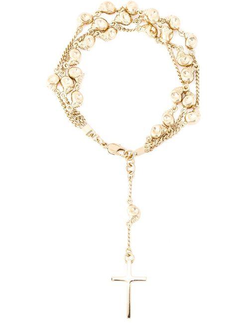 Givenchy | Женское Серебристый Skull Rosary Bracelet