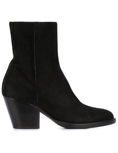 A.F.Vandevorst | Чёрный Mid Chunky Heel Ankle Boots
