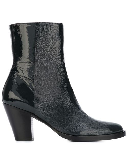 A.F.Vandevorst | Серый Mid Chunky Heel Ankle Boots