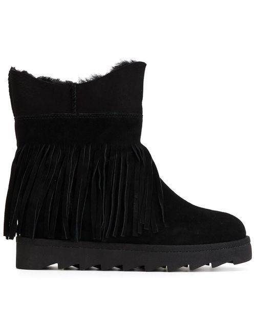 Ash | Черный Fringed Boots