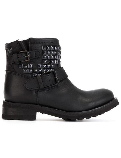 Ash | Женское Черный Studded Biker Boots