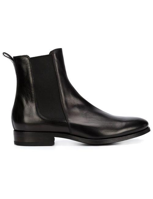 Buttero | Мужские Чёрные Ботинки Челси По Щиколотку