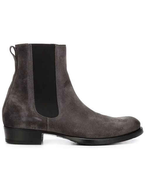 Buttero | Мужские Серые Ботинки С Эластичными Панелями
