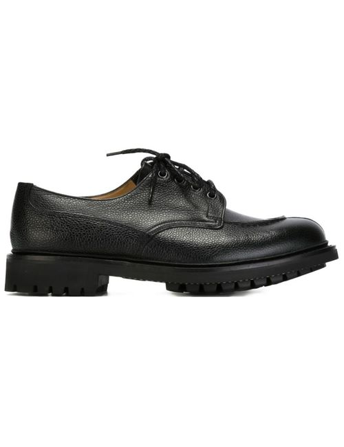 Church'S | Мужские Чёрные Туфли Дерби Elland 2