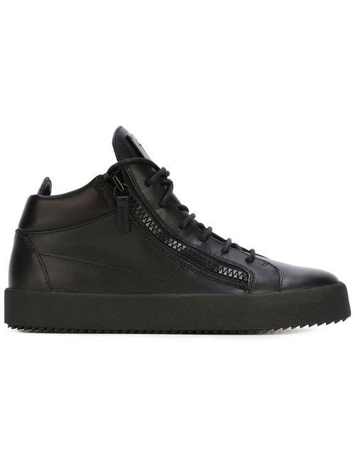Giuseppe Zanotti Design   Женское Черный Zip Detail Sneakers