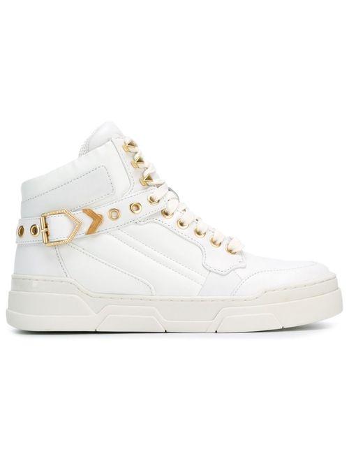 Ash | Белый Eyelet Hi-Top Sneakers