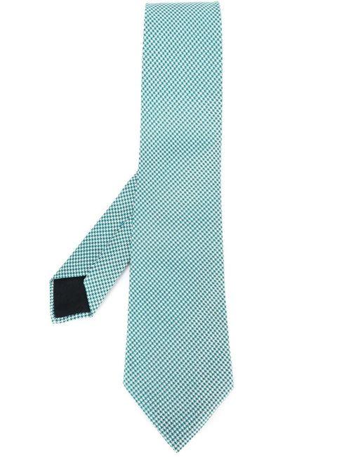 Hermès Vintage | Мужское Синий Print Tie