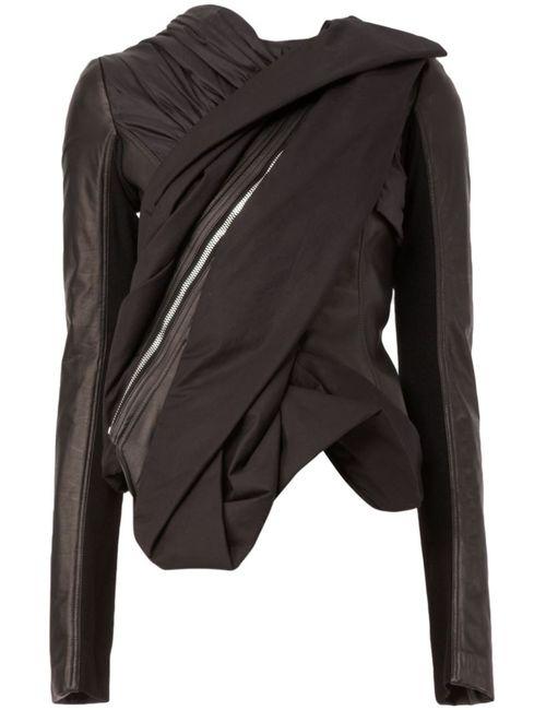 Rick Owens | Женское Чёрный Draped Jacket