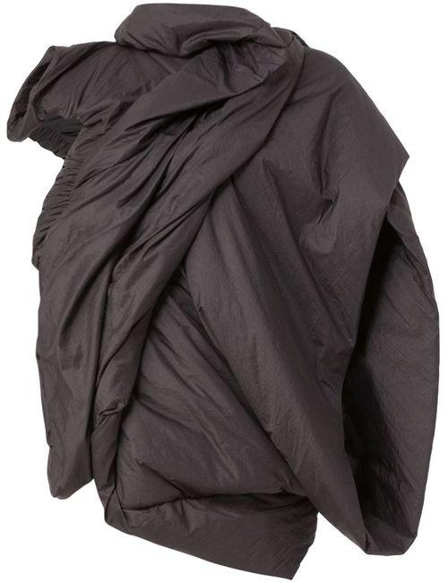Rick Owens | Женское Черный Padded Draped Jacket