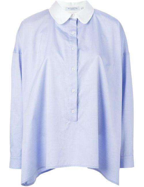 Vivetta | Женская Синяя Рубашка Marquez
