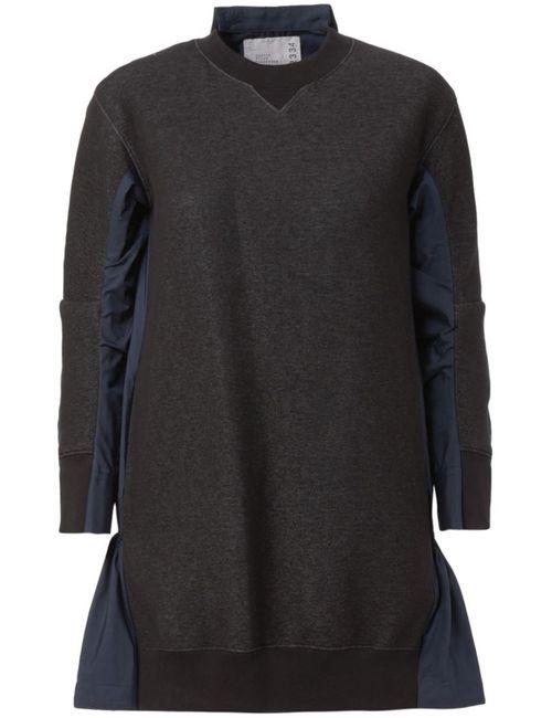 Sacai | Женское Чёрный Shirt Back Sweatshirt