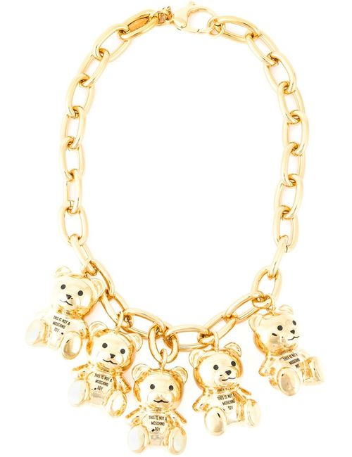 Moschino | Женское Серебристый This Is Not A Toy Necklace