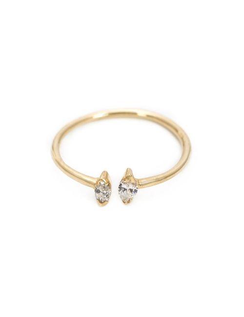 LOREN STEWART | Женское Желтый Adjustable Ring