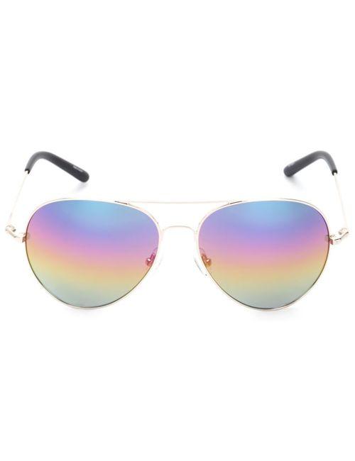 Matthew Williamson | Многоцветные Солнцезащитные Очки-Авиаторы