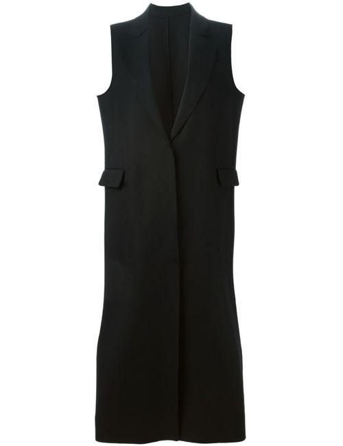 MSGM | Женское Черный Long Sleeveless Coat