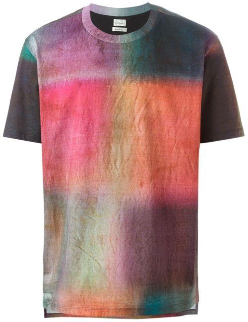 Paul Smith | Мужское Многоцветный Printed T-Shirt
