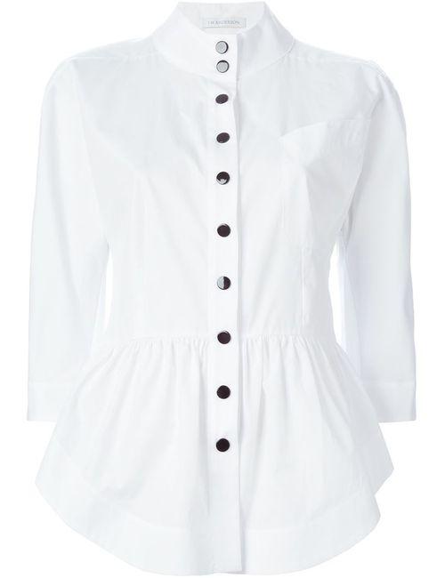 J.W. Anderson | Женская Белая Рубашка С Баской
