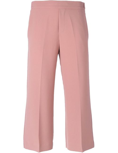 P.A.R.O.S.H. | Женское Розовый Cropped Trousers