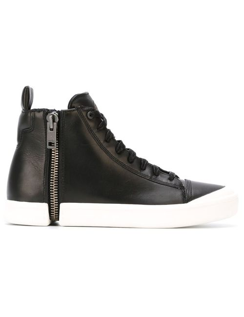Diesel | Чёрный Hi-Top Lace-Up Sneakers