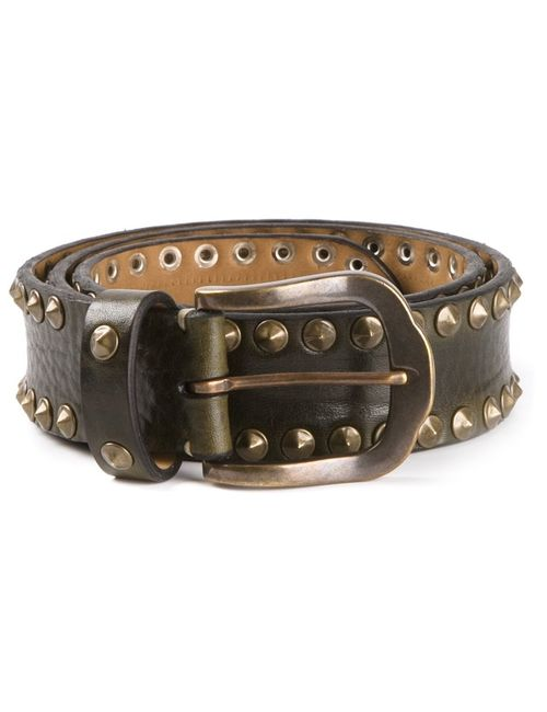 Fausto Colato   Женское Черный Studded Belt