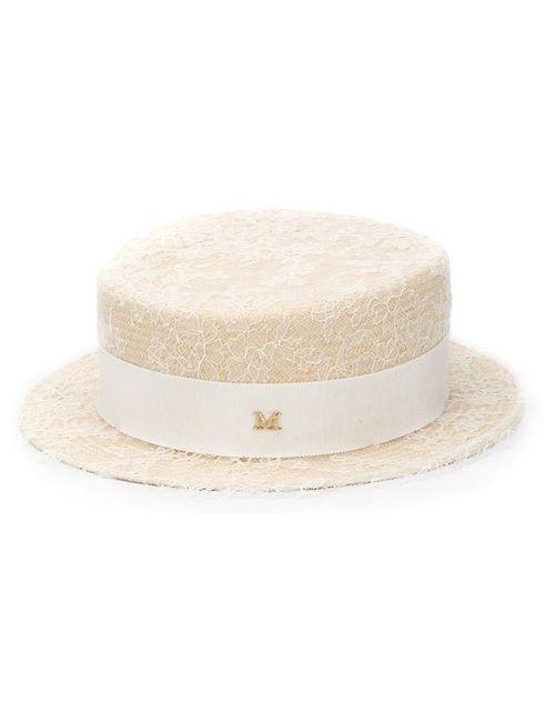 Maison Michel | Женская Белая Шляпа Auguste