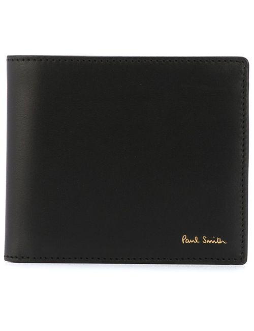 Paul Smith | Мужской Чёрный Складной Бумажник