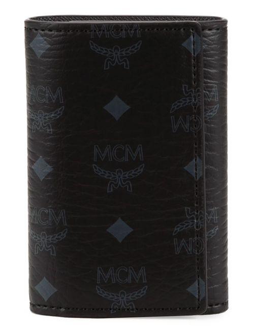 MCM | Женский Чёрный Кошелек Для Ключей Visetos