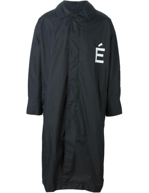 ETUDES   Мужское Чёрное Пальто Prelude