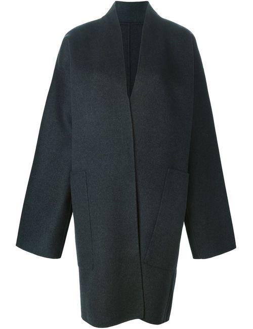 Sofie D'Hoore | Женское Серое Пальто Свободного Кроя