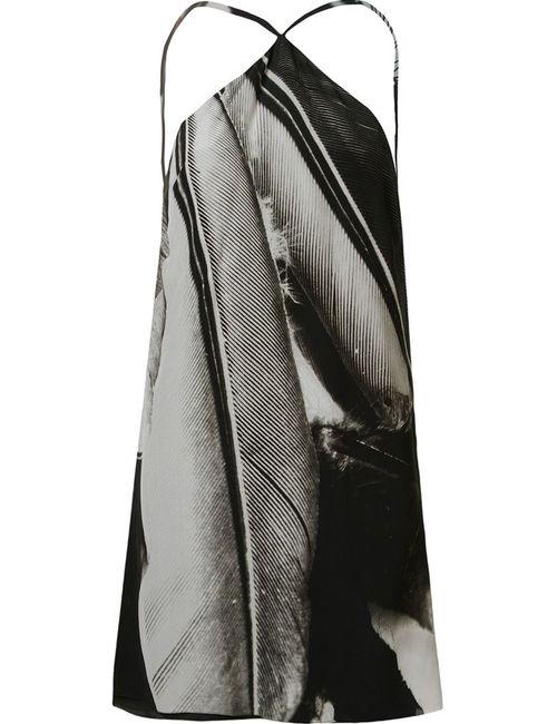 Osklen | Женское Чёрный Open Back Silk Dress