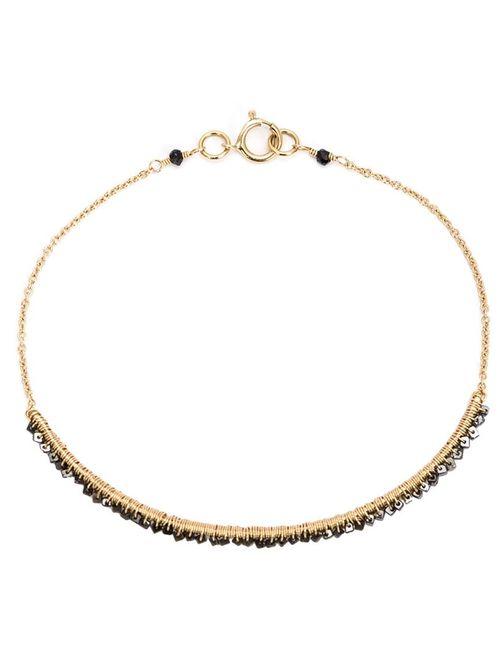 DANA KELLIN | Женское Чёрный Wrap Chain Diamond Bracelet