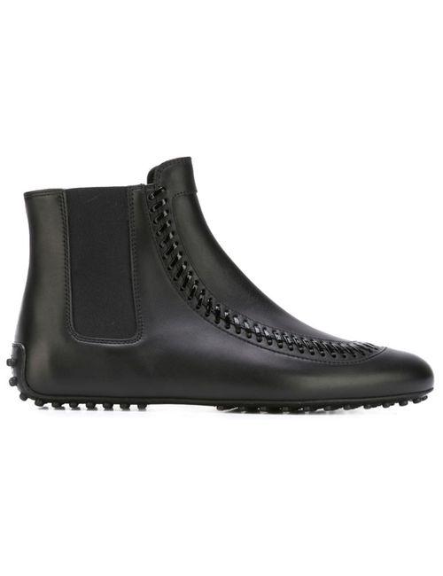 Tod'S | Женское Черный Laser-Cut Ankle Boots