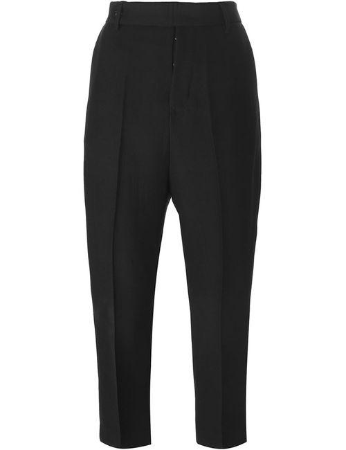 Rick Owens | Женское Чёрный Cropped Trousers