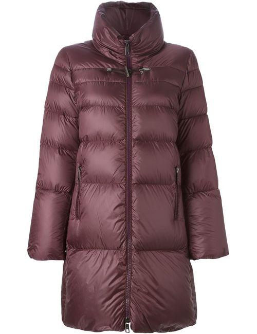 Fay | Женское Красное Дутое Пальто