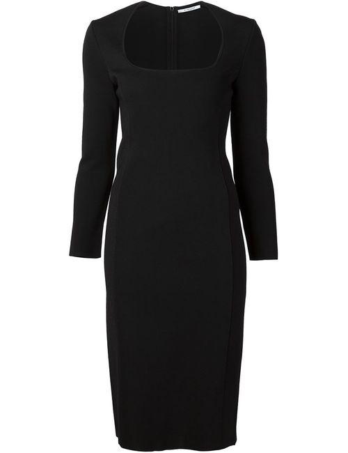 Givenchy | Женское Чёрное Облегающее Платье Milano